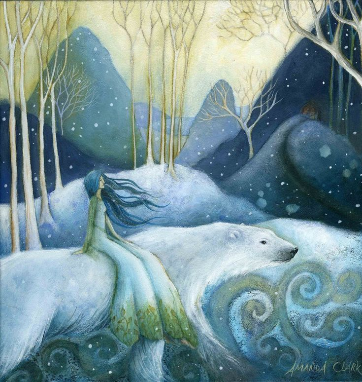 East of the Sun, West of the Moon....One of our most cherished folktales, and my childhood favourite :)   <3<3<3