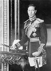 George VI dans les années 1940.