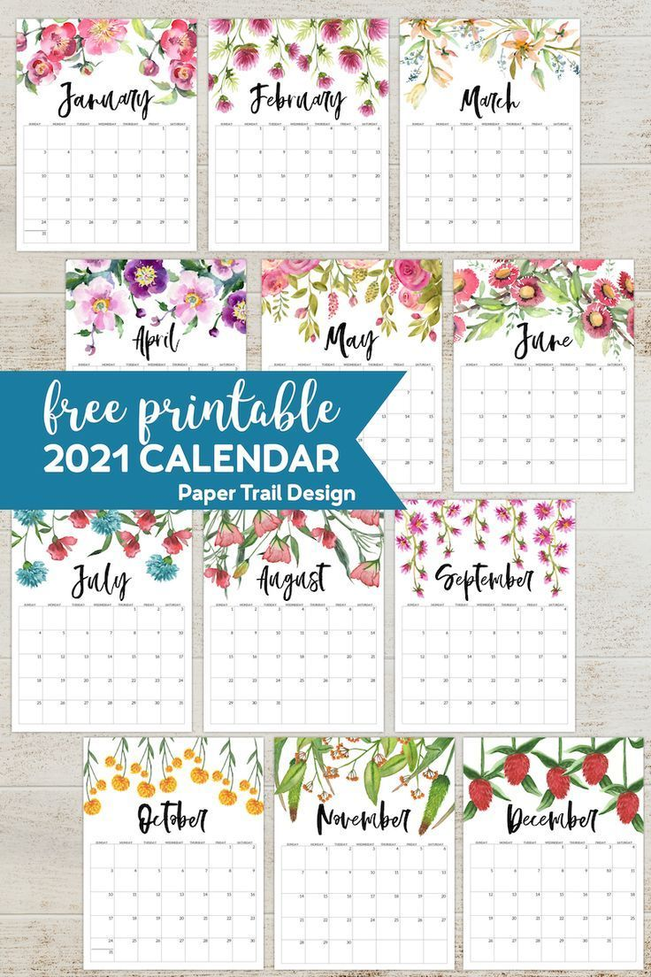 Home Remodel Layout Free Printable 2021 Calendar Printable With F In 2020 2021 Calendar Craftsman Home Interiors Functional Decor