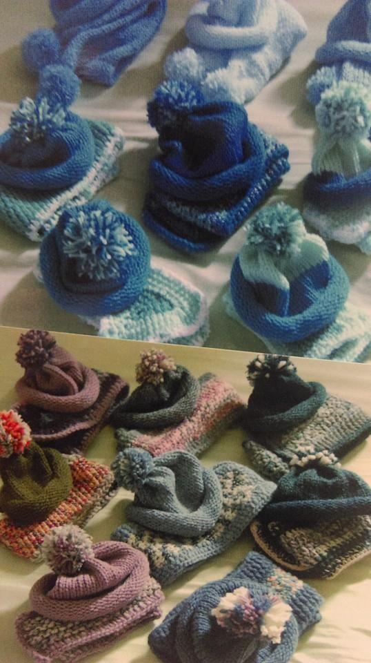 #CharityKnitting #Sirdar #knitting #scarf #Hat