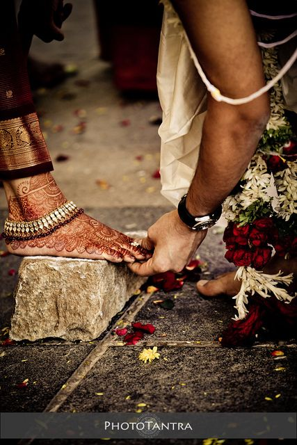 Indian wedding photography. Hindu wedding rituals