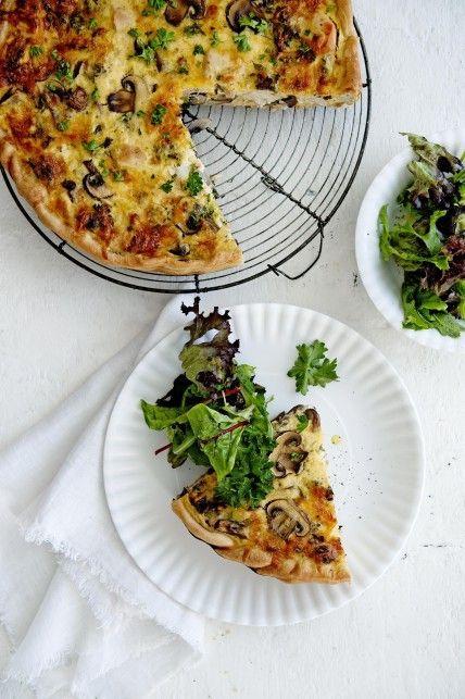 Gezond Idee eiwitrijk recept quiche lunch diner lifestyle tips advies gezonde…