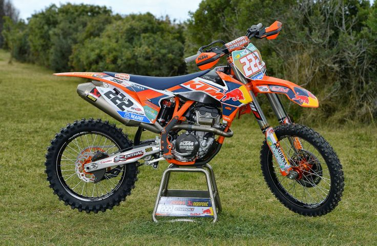 KTM SX-350F Tony Cairoli Team Red Bull KTM Factory Racing 2014