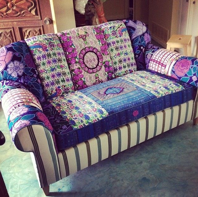 Georgia Bohemian Chic Sofa By Folk Project