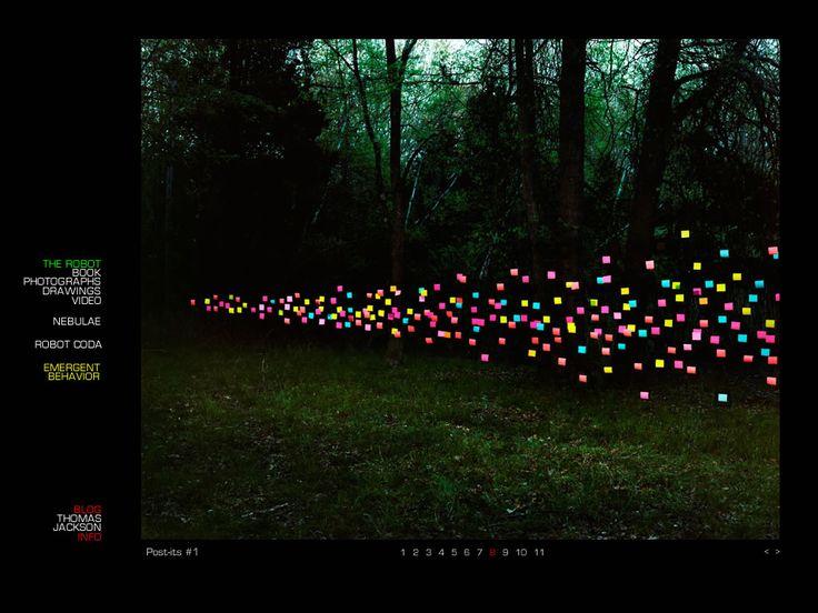 """""""Há algo de fascinante e perturbador em ver um enorme número de pequenas e insignificantes partes se juntarem em uma forma maior"""". Thomas Jackson"""