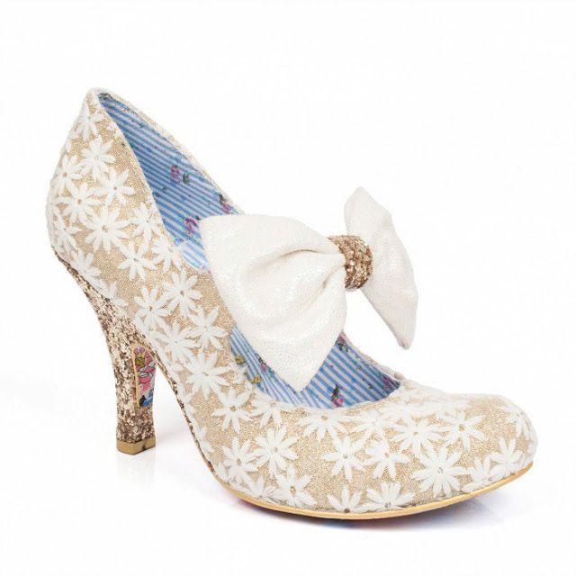 Irregular Choice 2017 Bridal Shoe Collection... ~ Hot Chocolates Blog      #wedding #weddings #bride #groom  #weddingshoe #shoe #shoes #irregularchoice    www.hotchocolates.co.uk  www.blog.hotchocolates.co.uk  www.evententertainmenthire.co.uk