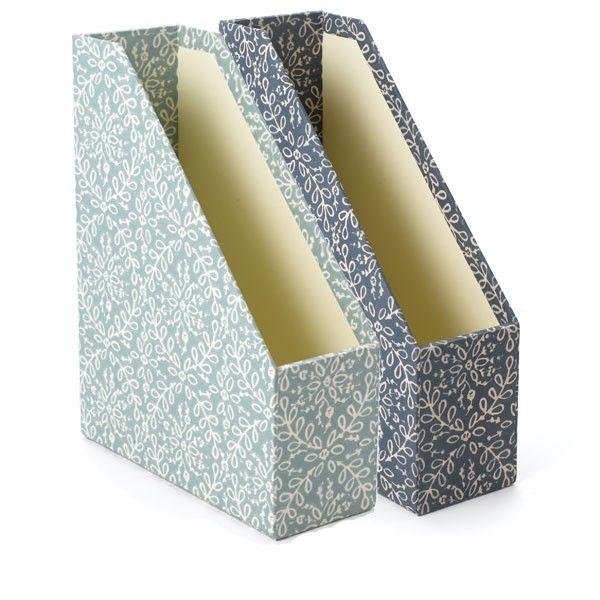 Aqua Tangier magazine boxes
