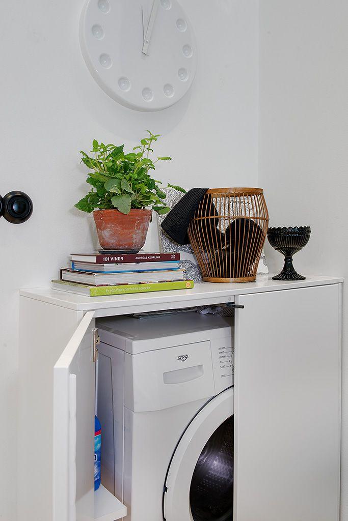 förvaring litet badrum tvättmaskin - Sök på Google
