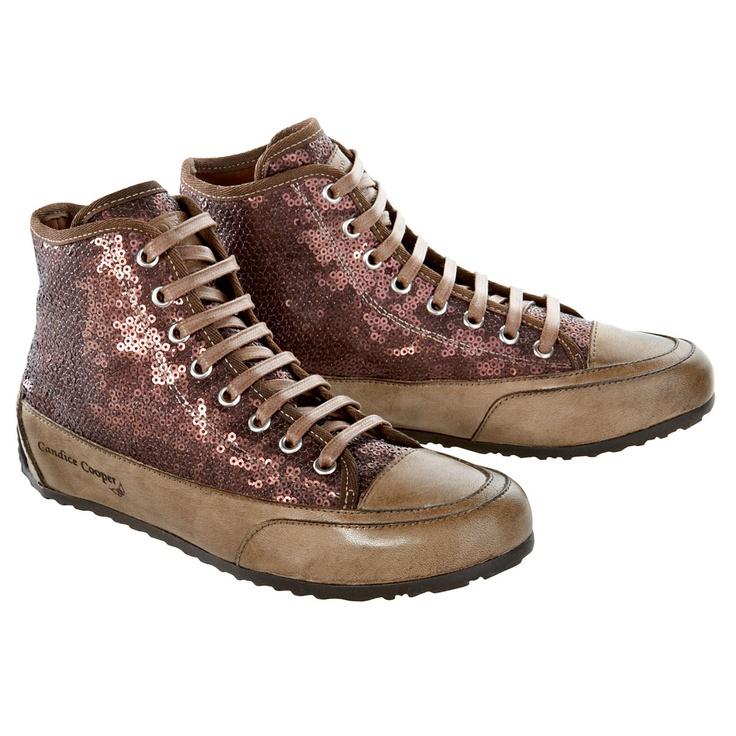 Candice Cooper Sequined Sneaker