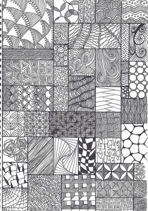 16 best art zentangle images on pinterest zentangle patterns doodle zentangle pattern sheet by krochetokikai fandeluxe Image collections