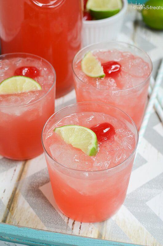 Sparkling Cherry Limeade on MyRecipeMagic.com