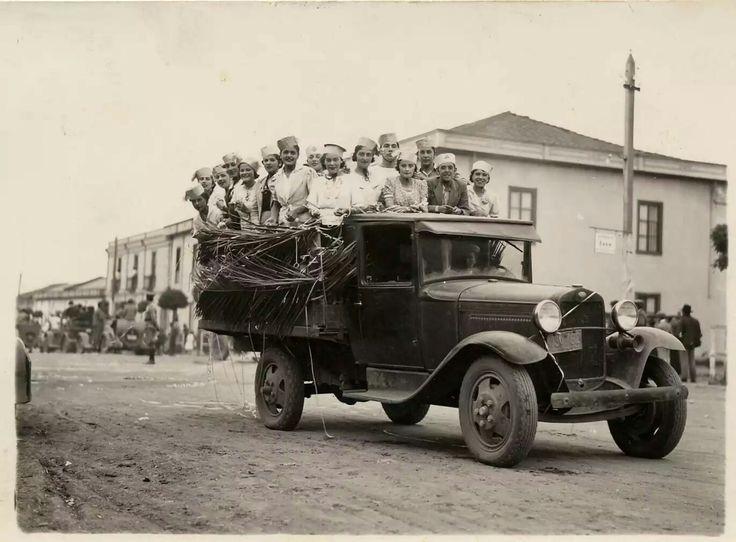 Fiesta de la Primavera, Pichilemu 1937