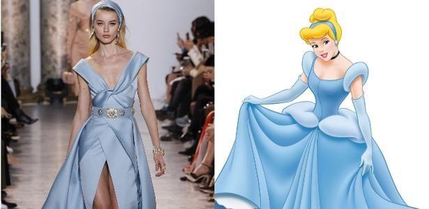 11 looks da Semana de Moda de Paris que poderiam ser das princesas Disney