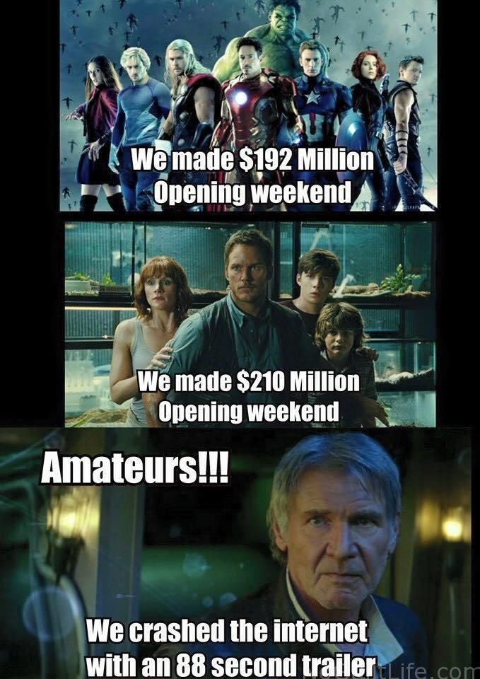 I love to laugh. I love Star Wars. Why not have both? Funny Monday Memes | Star Wars The Force Awakens - My No-Guilt Life | My No-Guilt Life