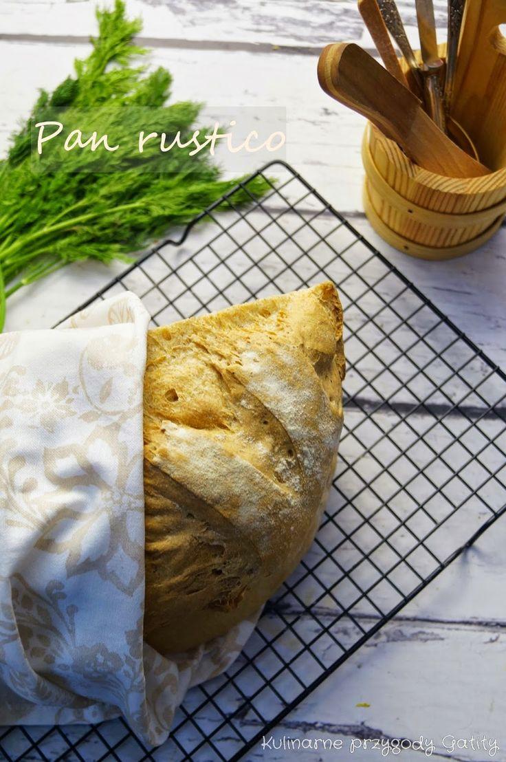Kulinarne przygody Gatity: Pan rústico, czyli rustykalny chleb hiszpański