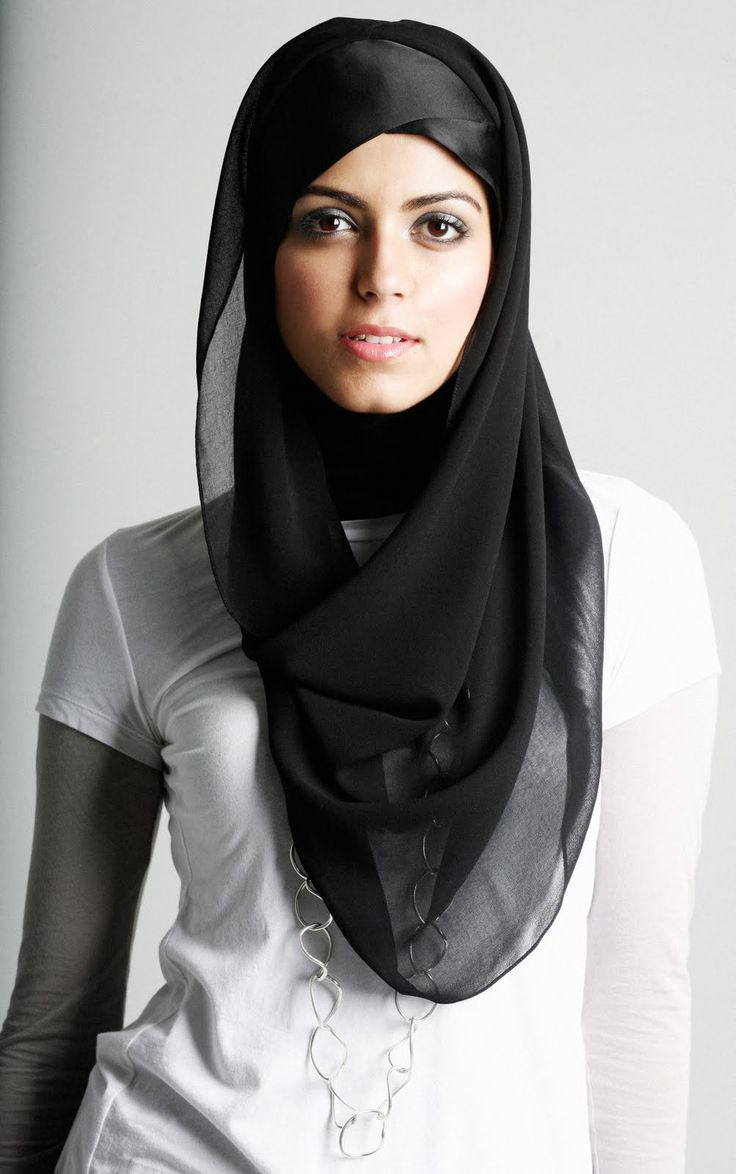 Simple But Stylish Scarf Style