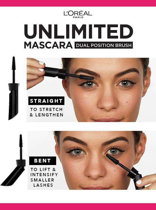 62b2695ebd0 Customize your lash look with L'Oréal Paris Unlimited Lash Lifting and Lengthening  Washable Mascara