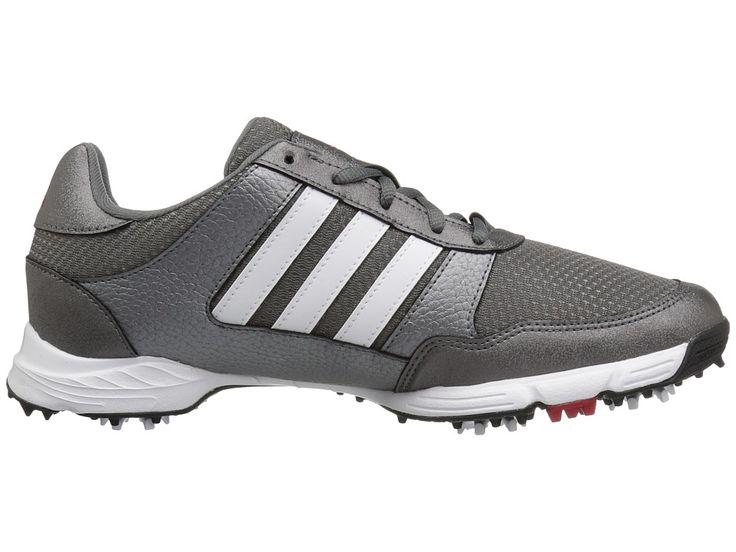 adidas Golf Tech Response Men's Golf Shoes Iron Metallic/Ftwr White/Core Black