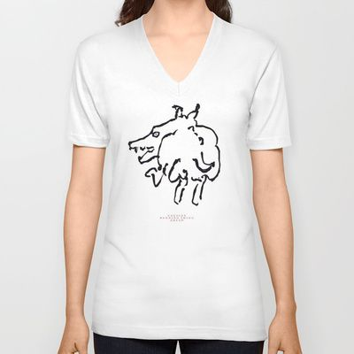 absolutely mad running thing ahead ( in Florida  by ALDO AAB Unisex V-Neck / White $24.00