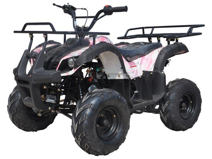 Amazon.com: Icebear Super Trooper 125cc Kids ATV Metallic