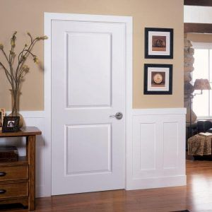 2 Panel Solid Wood Interior Doors