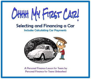 Financial Literacy: Financing a Car -This NO PREP LESSON is a great way to teach students everything they need to know about purchasing a new or used car. It is loaded with hands-on lessons that teach students the ins and outs of selecting a vehicle, finding the best interest rates, and calculating car payments.