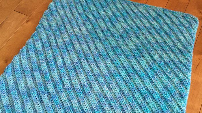 Corner to Corner Double Crochet Afghans