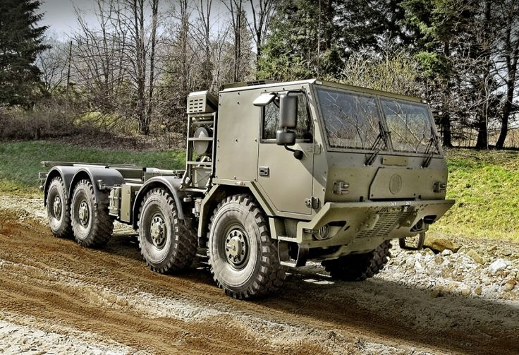 Tatra 8X8 High Mobility Heavy Duty Universal Container Carrier. Or B.O.V. for you Doomsday Preppers.