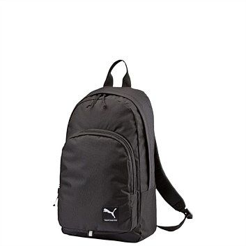Rebel Sport - PUMA Academy Backpack Black 26 Litres