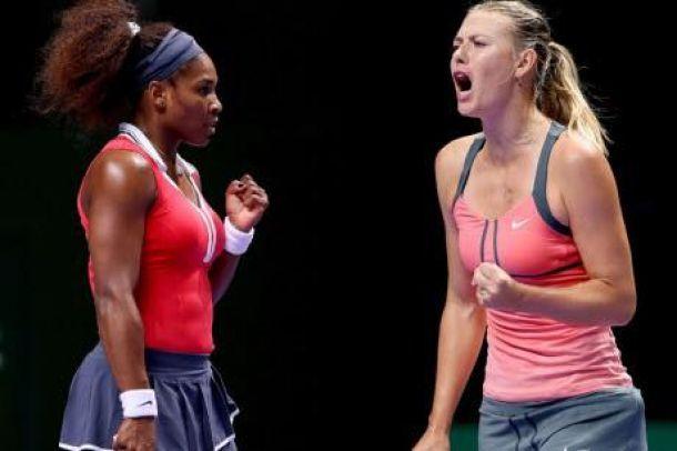 Serena Williams, Maria Sharapova tops WTA Rankings
