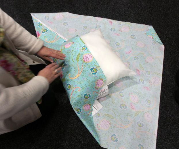 how to make no sew outdoor cushions
