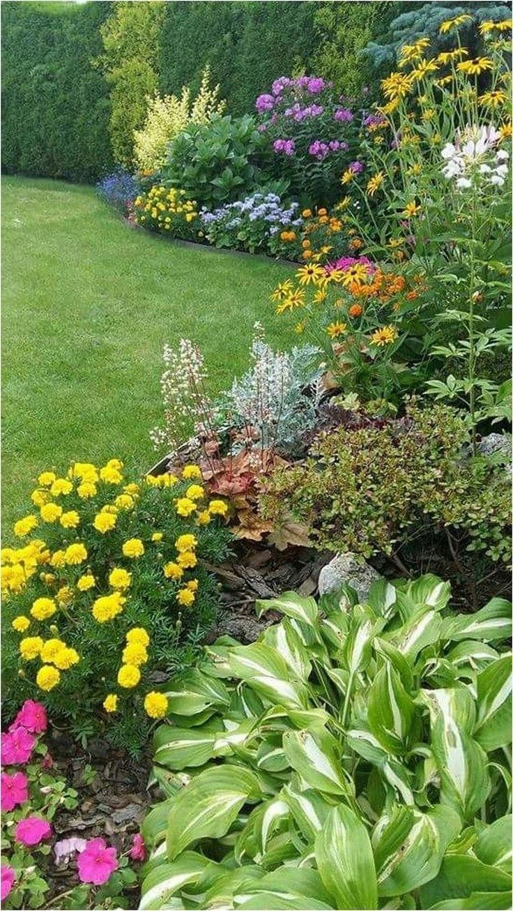 Landschaftsideen für Hinterhof 4043781177 #Beautifulgardenideas