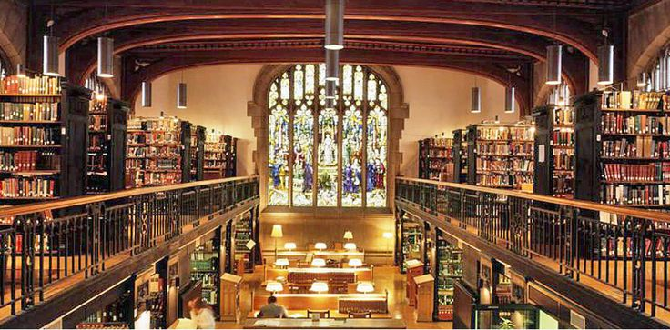 Frederick Thompson Memorial Library at Vassar College, N.Y.  http://www.buzzfeed.com/mattortile/49-breathtaking-libraries-from-all-over-the-world