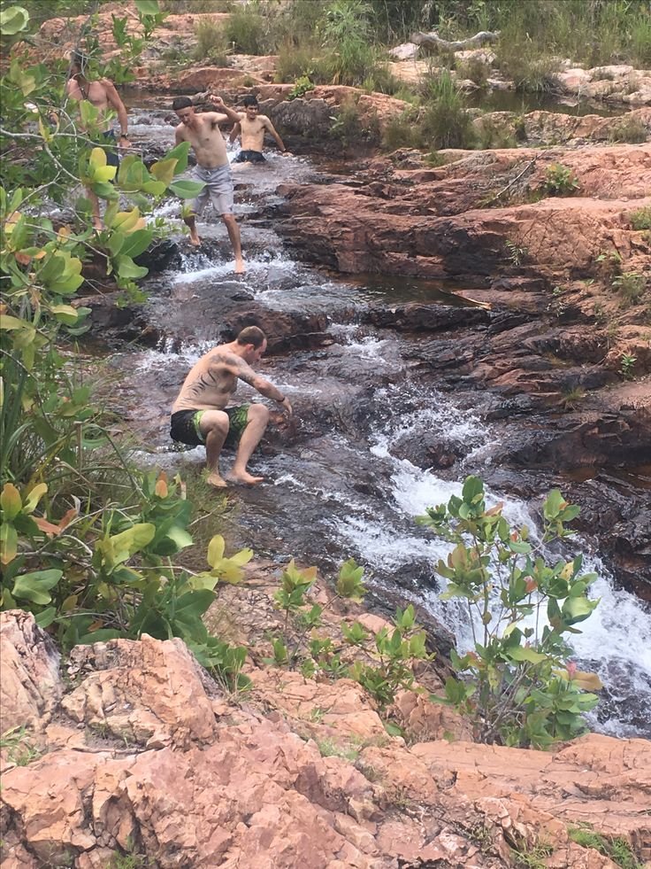 Waterfalls in Darwin, Litchfield National Park