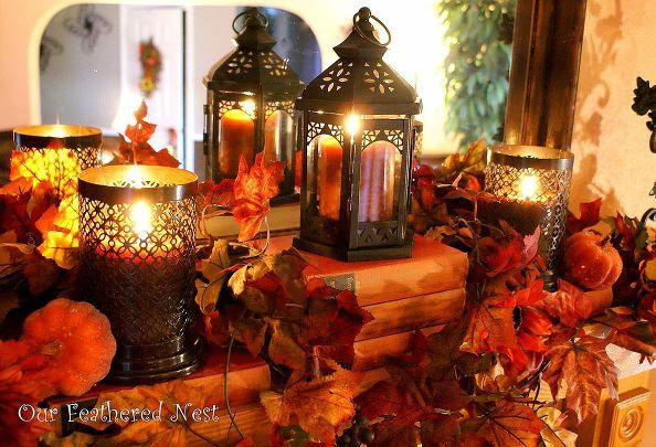 fall decor 2013, seasonal holiday decor:
