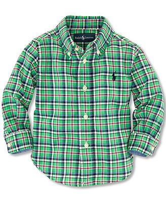Polo Ralph Lauren Baby Boys' Madras Shirt