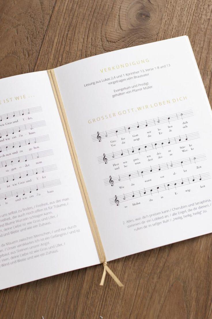 Kirchenheft Vorlage für Word: Professionell gestaltete Vorlage downloaden