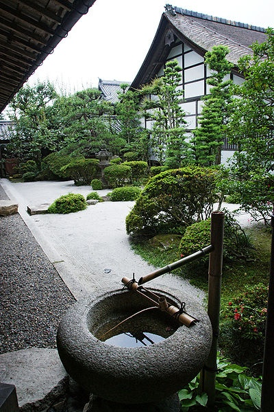 Stone water basin Sakamotu,Otsu,Shigaraki