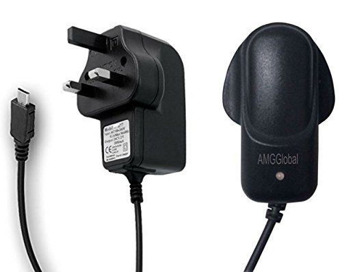 From 4.89 Amgglobal Universal Micro Usb Mains Charger 8600 - 2000mah Ce Approved Uk Plug For Various Phone Models - For Blackberry Htc Lg Motorola Nokia Samsung Galaxy S2 S3 S4 S5 S6 S6 Edge S6 Edge Plus And Sony Ericsson Htc Mobile Phone Range - One S V X Desire C Hd S V X Z Sensation Xe Xl Wildfire S Rhyme Radar Explorer Incredible S. Samsung Galaxy S5 S4 S3 Note 3 2 Tab 3 Nokia Lunia 520 1020 920 Moto G Google Nexus 5 7 10 Android/windows Smartphones External Battery