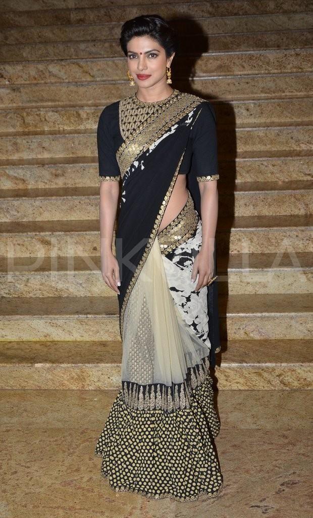Love the saree!