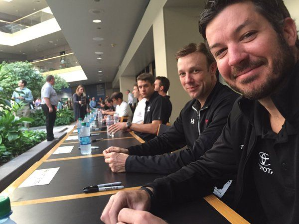 David Ragan, Matt Kenseth, Martin Truex Jr
