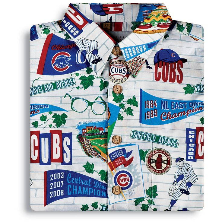 Chicago Cubs Hawaiian Shirt by Reyn Spooner at SportsWorldChicago.com