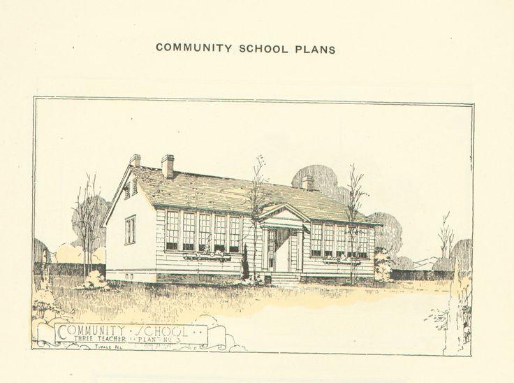 julius rosenwald community shool plans