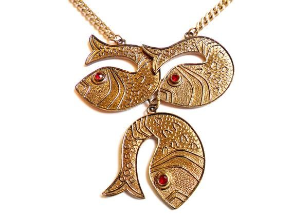 SARAH COVENTRY Fish Necklace