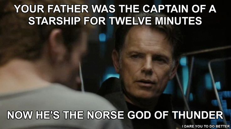 I can't watch Star Trek (2009) without making this comparison...