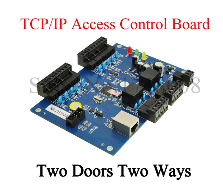 Control De Acceso Two Doors Access Controller Board TCP/IP Two 2 Door Access Controller 20K Users 100K Events attendance record