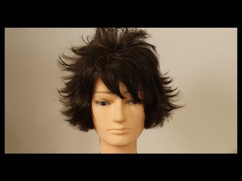 Haircut Tutorial - L Death Note Anime Haircut Tutorial - TheSalonGuy - YouTube