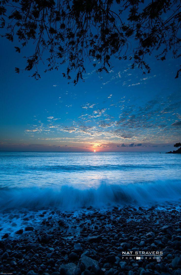 Sunrise calling ~~ Talumben, Bali, Indonesia (by Nathalie Stravers on 500px)