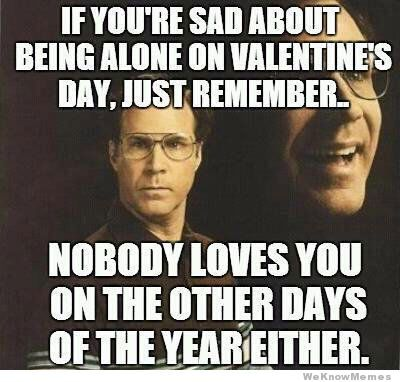 if you're spending valentine day alone meme - Best 25 Valentines day memes ideas on Pinterest