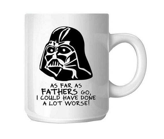 custom darth vader day mug i am your father coffee mug gift for dad from son or daughter